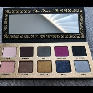 Too Faced Pretty Rebel Palette- No Offers